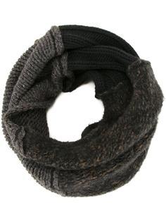 двухцветный шарф Isabel Benenato