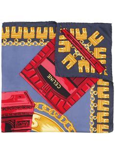 'Arc de Triomphe' scarf Céline Vintage