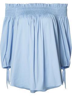 off-shoulder blouse Caroline Constas