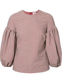 блузка в клетку Rosie Assoulin