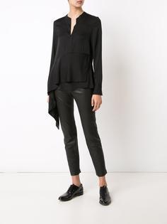 блузка с каскадной драпировкой 3.1 Phillip Lim