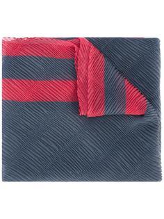 шарф с отделкой в рубчик Emporio Armani