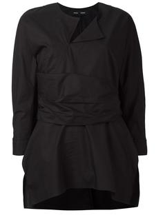блузка с поясом Proenza Schouler