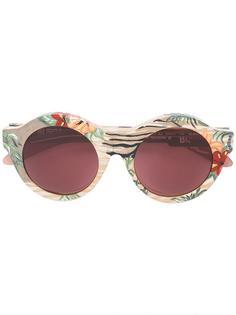 очки с цветочным принтом Kuboraum