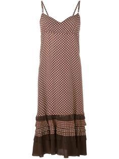 polka dot frayed edge dress Comme Des Garçons Vintage