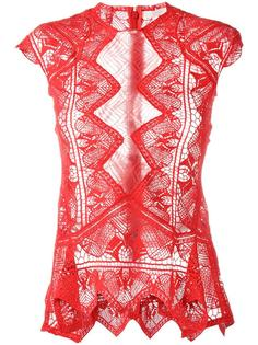 sheer lace top Jonathan Simkhai