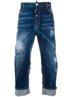 Big Brother bleached distressed jeans  Dsquared2