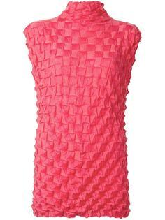 sleeveless origami top Issey Miyake Vintage