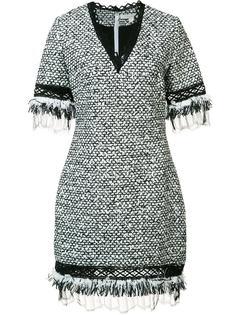 платье с V-образным вырезом Jonathan Simkhai