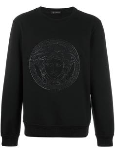 embroidered Medusa sweatshirt Versace