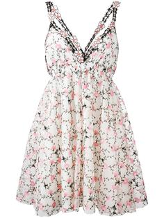 floral print pleated dress  Giamba