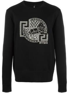 logo patch sweatshirt  Versus