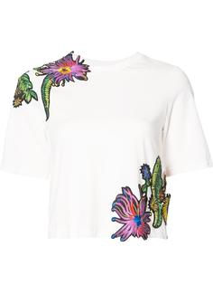 футболка с цветочной вышивкой 3.1 Phillip Lim