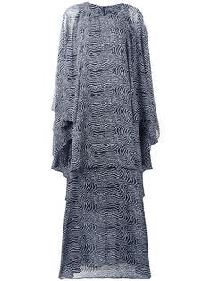 длинное платье свободного кроя Steffen Schraut