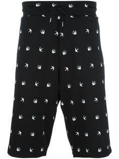 спортивные шорты с принтом McQ Alexander McQueen