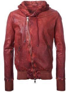 куртка со смещенной молнией Giorgio Brato