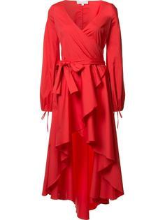 cascading tail V-neck dress Caroline Constas