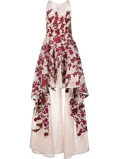 floral high low gown  Marchesa Notte