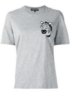 футболка 'Embellished Zebra Head Alex'  Markus Lupfer