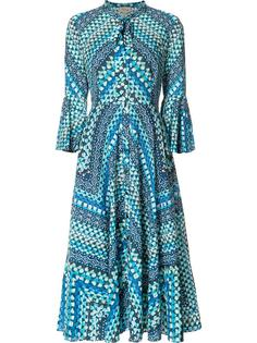 платье шифт с стилизованным принтом Temperley London