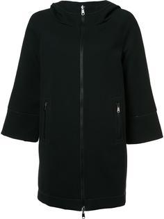 двухстороннее пальто с капюшоном Brunello Cucinelli