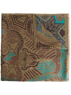 шарф с абстрактным узором Etro
