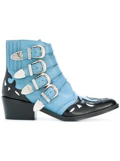 ankle height buckle boots  Toga