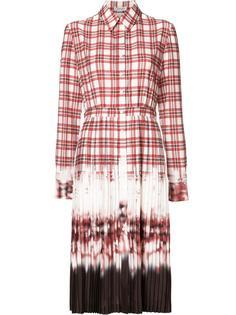 tie dye pleated shirt dress Altuzarra