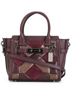 сумка-тоут с геометрическим дизайном Coach