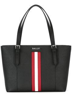 сумка-тоут с контрастной полосой Bally
