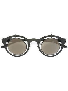 очки в круглой оправе Mykita