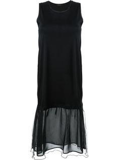 платье с волнистой отделкой  Loveless