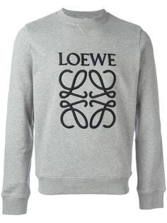 logo embroidered sweatshirt Loewe