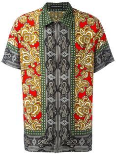 рубашка с принтом пейсли Alexander McQueen