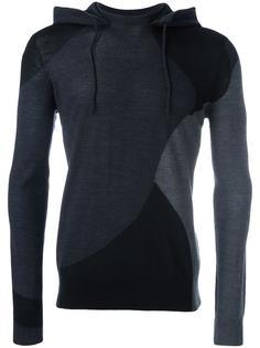 contrast hoodie  Emporio Armani