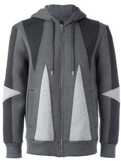 geometric panel sweatshirt Neil Barrett