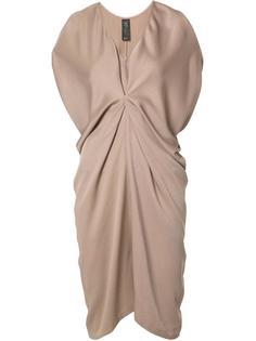 платье-шифт со сборками Zero + Maria Cornejo