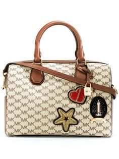 сумка-тоут с принтом логотипа Michael Michael Kors