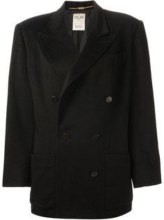 двубортный пиджак  Céline Vintage