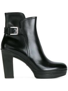 ботинки по щиколотку с пряжкой Santoni
