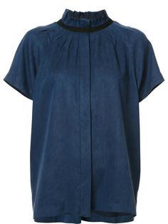 блузка с плиссировкой Zero + Maria Cornejo