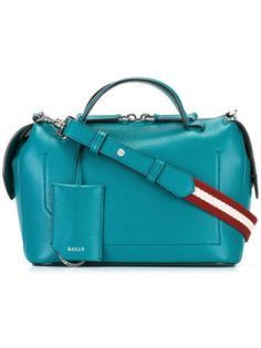 сумка-тоут со съемной лямкой в полоску Bally