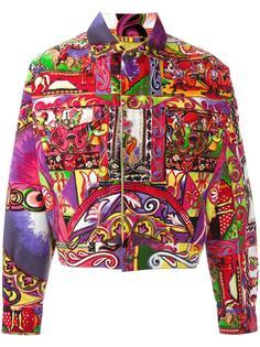 Gianna Versace printed jacket Versace Vintage