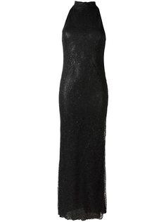 кружевное вечернее платье Romeo Gigli Vintage