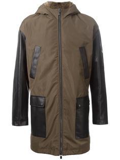 пальто с капюшоном и накладными карманами Drome