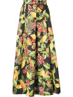 плиссированная юбка с завышенной талией Isolda