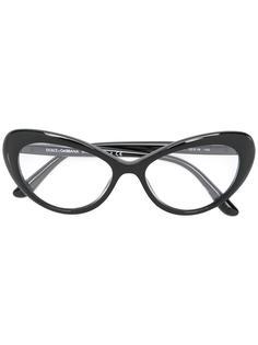 """солнцезащитные очки в оправе """"кошачий глаз"""" Dolce & Gabbana"""
