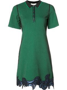 платье-поло с вышивкой из пайеток 3.1 Phillip Lim