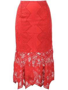 lace mid-length skirt  Jonathan Simkhai
