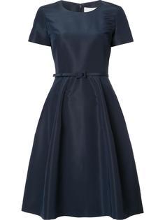 платье с поясом 'Faille'  Carolina Herrera